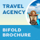 Travel Agency Bifold / Halffold Brochure 5 - GraphicRiver Item for Sale