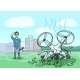 The Drone Fell and Broke into Pieces - GraphicRiver Item for Sale