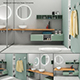 Bathroom furniture set Arcom Escape 4 - 3DOcean Item for Sale