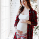 Happy beautiful pregnant woman - PhotoDune Item for Sale