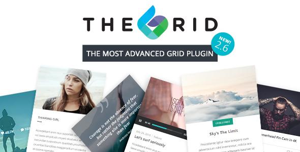 The Grid - Responsive WordPress Grid Plugin Nulled