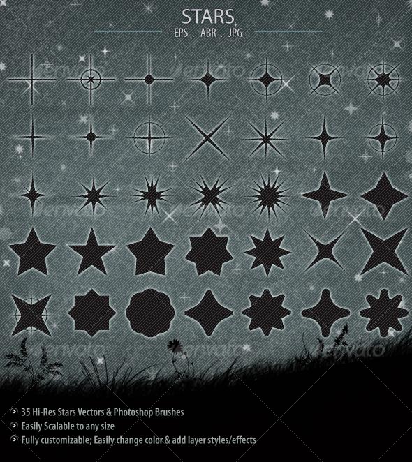 Stars - Decorative Symbols Decorative