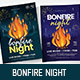 Bonfire Night Flyer / Poster - GraphicRiver Item for Sale
