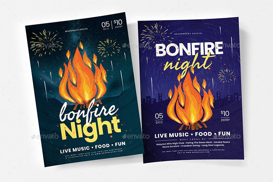 Bonfire Night Flyer / Poster