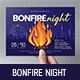 Bonfire Night Flyer Template - GraphicRiver Item for Sale