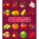 Poster with a Picture of Ripe and Healthy Vegetables - GraphicRiver Item for Sale