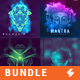 Electronic Music Album Cover Artwork Templates Bundle 3 - GraphicRiver Item for Sale