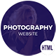 Rafoz Photography HTML Template - ThemeForest Item for Sale