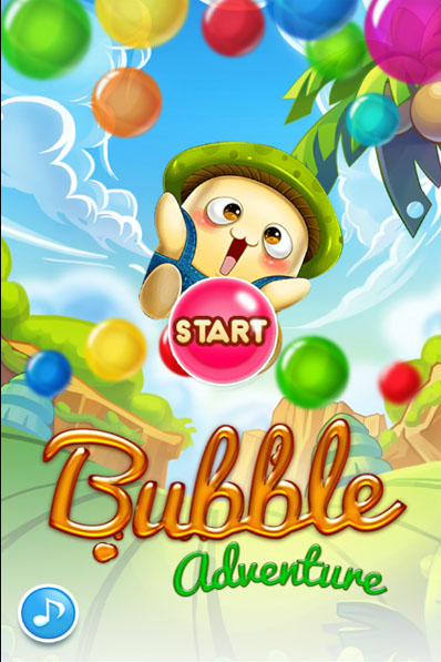 BUBBLE ADVETURE (Admob Banner and Interstitial ID & Reward video)