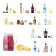 Alcohol Drinks Beverages Cocktail Appetizer Bottle - GraphicRiver Item for Sale