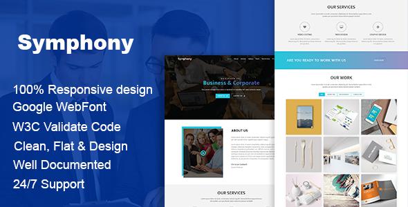Symphony - Multipurpose Business HTML Template