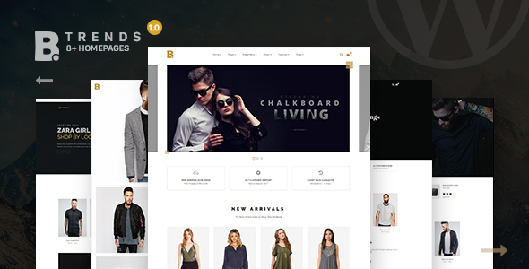 Btrend - Ecommerce Multipurpose WordPress - Shopping Retail