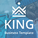 King Business Powerpoint Te-Graphicriver中文最全的素材分享平台