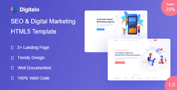 Digitalo - SEO and Digital Marketing Template