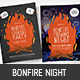 Bonfire Night Poster / Flyer - GraphicRiver Item for Sale