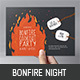 Bonfire Night Flyer - GraphicRiver Item for Sale