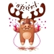 Cartoon Deer Characters - GraphicRiver Item for Sale
