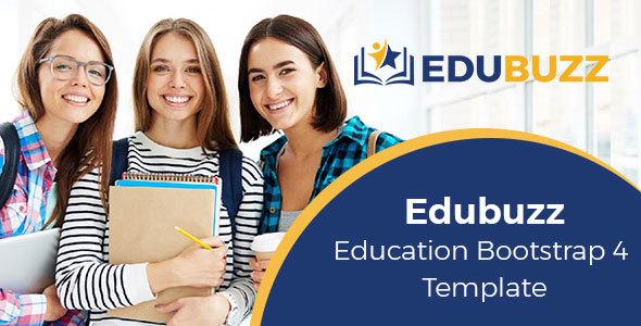 Edubuzz – Education Bootstrap 4 Template