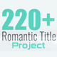 Romantic Title - VideoHive Item for Sale