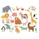 Cartoon Animals - GraphicRiver Item for Sale