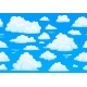 Cartoon Blue Cloudy Sky - GraphicRiver Item for Sale