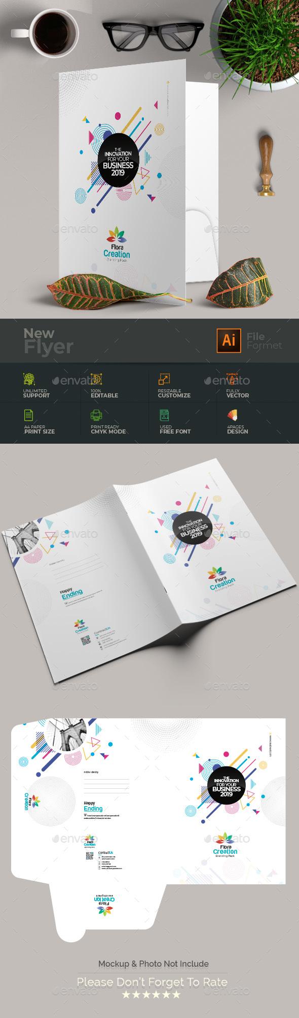 Presentation Folder - Stationery Print Templates