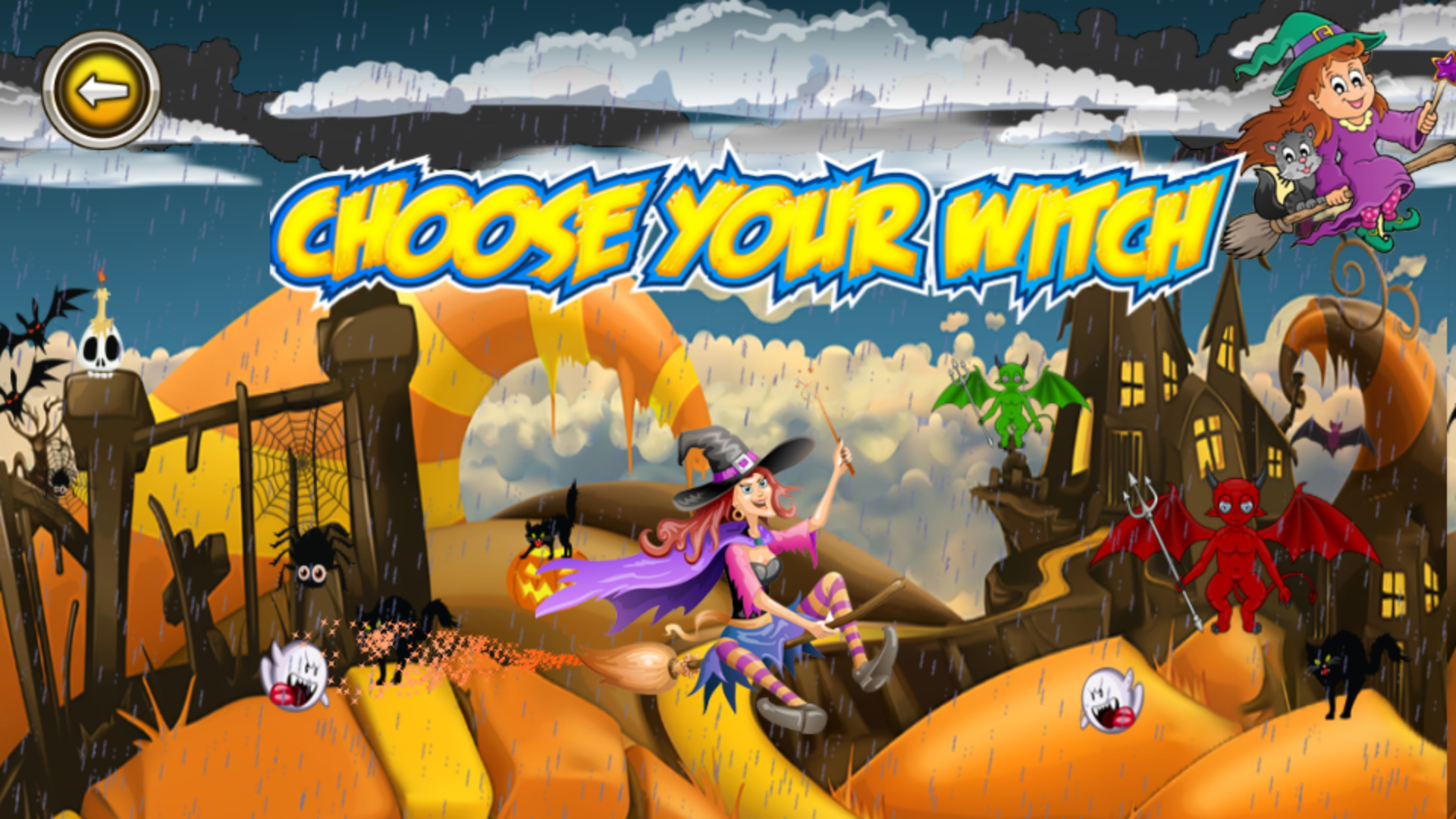 The Halloween Witch Adventure - Admob Banner & Interstitial (Android Studio) - 4