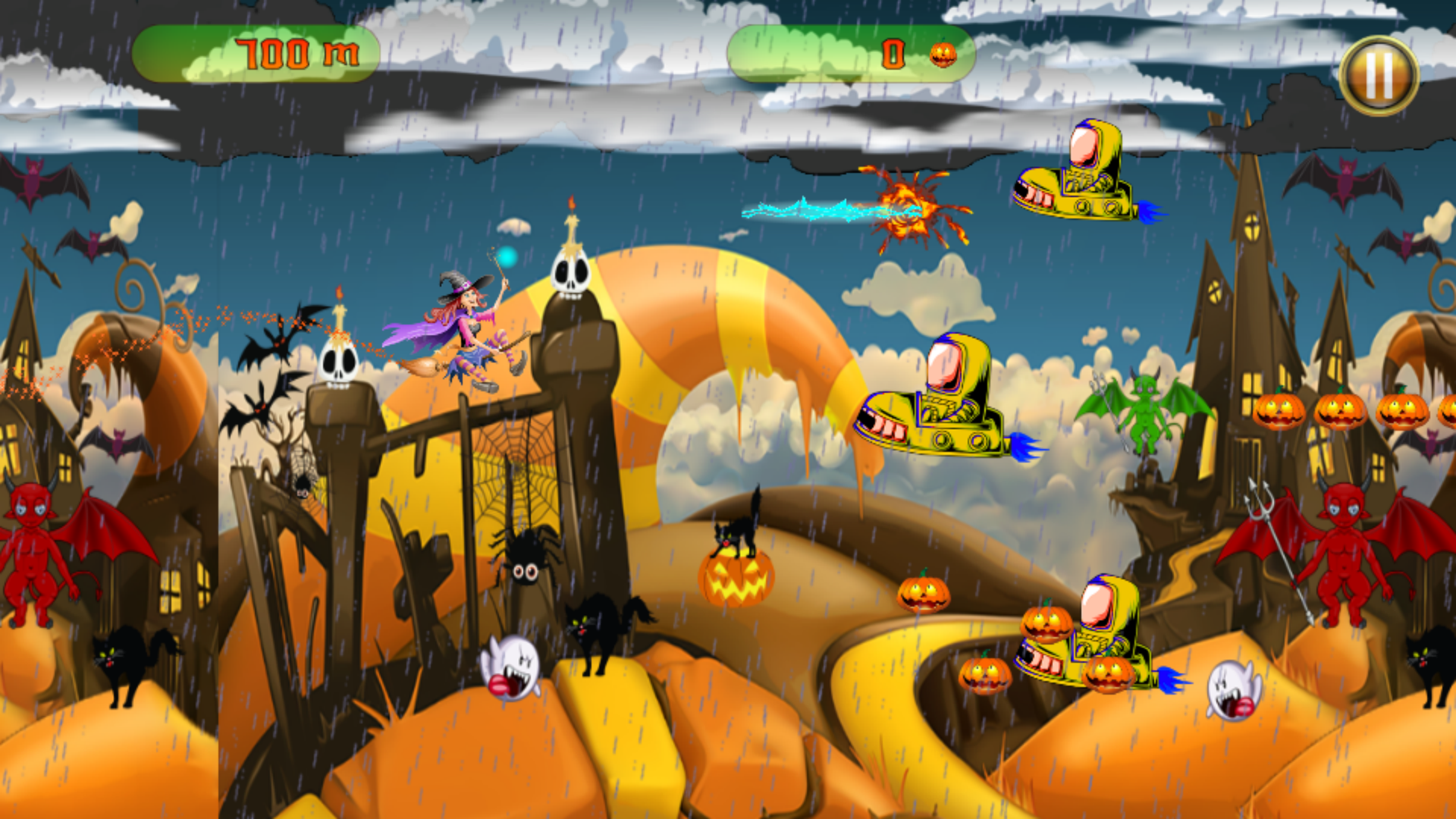 The Halloween Witch Adventure - Admob Banner & Interstitial (Android Studio) - 2