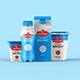 Yogurt Packaging Mockup-Graphicriver中文最全的素材分享平台