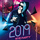Nye Party Flyer - GraphicRiver Item for Sale