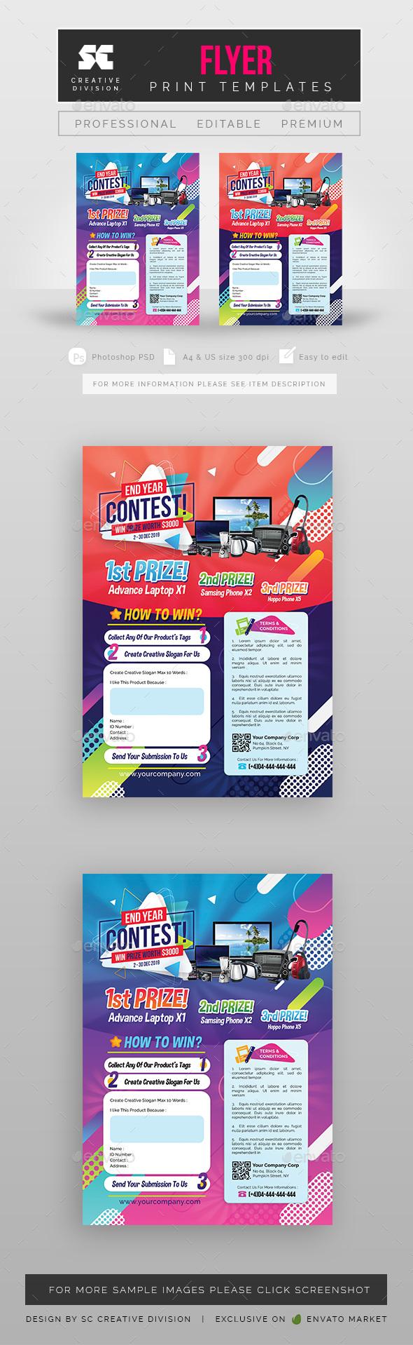 Contest Flyer / Magazine Ads - Miscellaneous Events