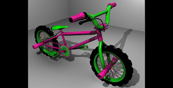 3D Bmx - 3DOcean Item for Sale