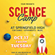 Science Camp Flyer - GraphicRiver Item for Sale