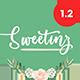 Sweetinz - Creative OnePage Wedding WordPress Theme - ThemeForest Item for Sale