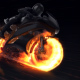 Motorcycle Fire Reveal - VideoHive Item for Sale