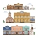 Saloon Vector Wild West Buildings - GraphicRiver Item for Sale