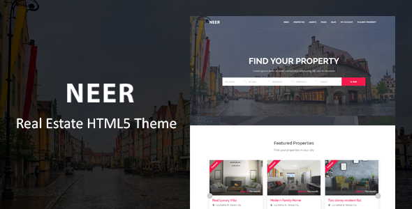 Neer - Real Estate HTML Template