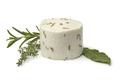 Single preserved white organic Dutch goat cheese - PhotoDune Item for Sale