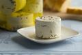 Preserved white organic Dutch goat cheese - PhotoDune Item for Sale