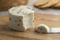 Ppreserved white organic Dutch goat cheese - PhotoDune Item for Sale