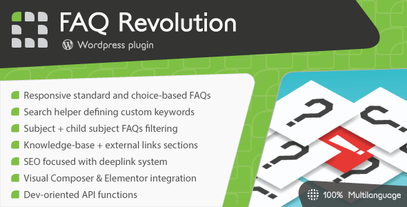 FAQ Revolution - WordPress Plugin Free Download | Nulled