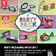 The Party Pack Packaging Mock Ups 1 - GraphicRiver Item for Sale