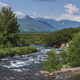 Stunning Summer Panorama Landscape of Mountain River in Kamchatka Peninsula - PhotoDune Item for Sale
