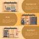 Bread Production Vector Banner Web Template Set - GraphicRiver Item for Sale