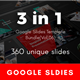 3 in 1 Multipurpose Google Slides Template Bundle (Vol.06) - GraphicRiver Item for Sale