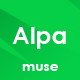 Free Download Alpa - Responsive MultiPurpose Muse Template | Business Nulled