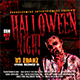4 Instagram Banner Halloween Events - GraphicRiver Item for Sale
