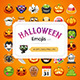 Halloween Emojis Set - GraphicRiver Item for Sale