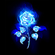 Burning Blue Rose - GraphicRiver Item for Sale