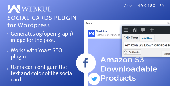 Social Cards Plugin for WordPress - CodeCanyon Item for Sale